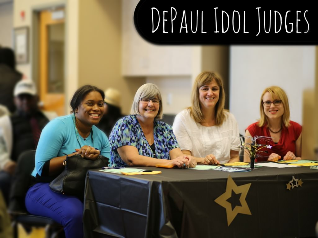 DePaul Idol Judges