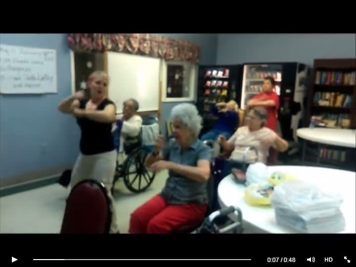 Click to view Southfork's Zumba Gold class