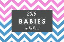2015 Babies of DePaul graphic