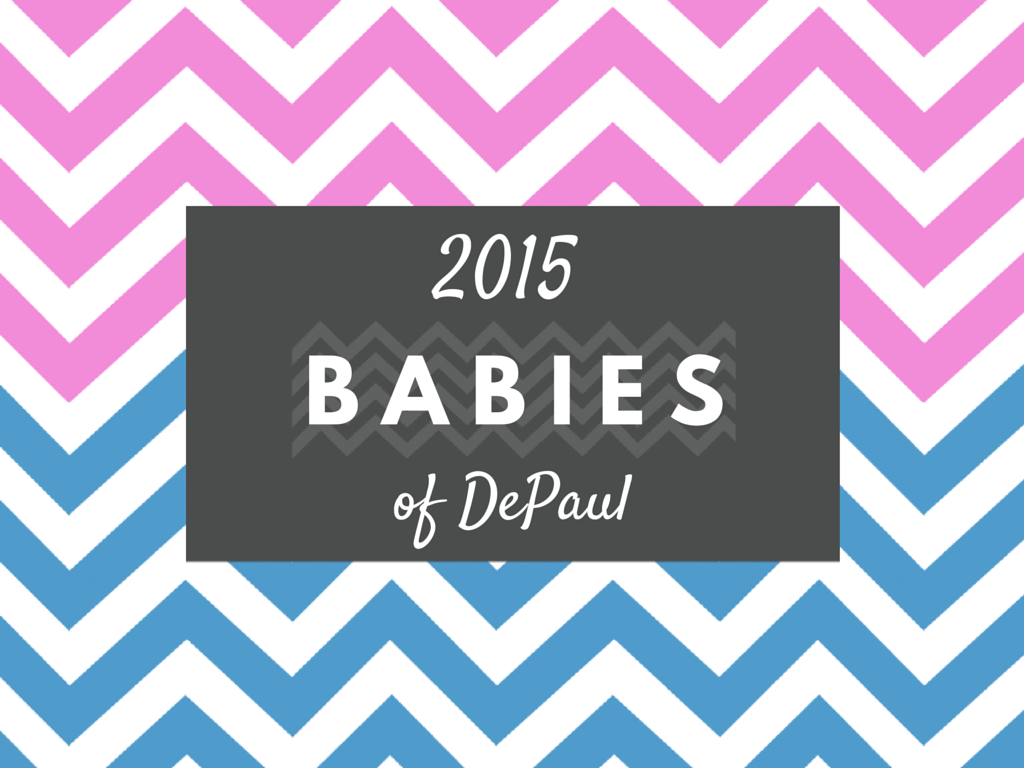 2015 Babies of DePaul title graphic