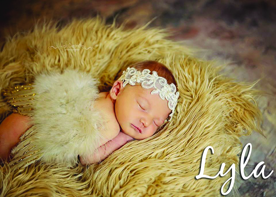 Suzanne Devine granddaughter Lyla, HV 2
