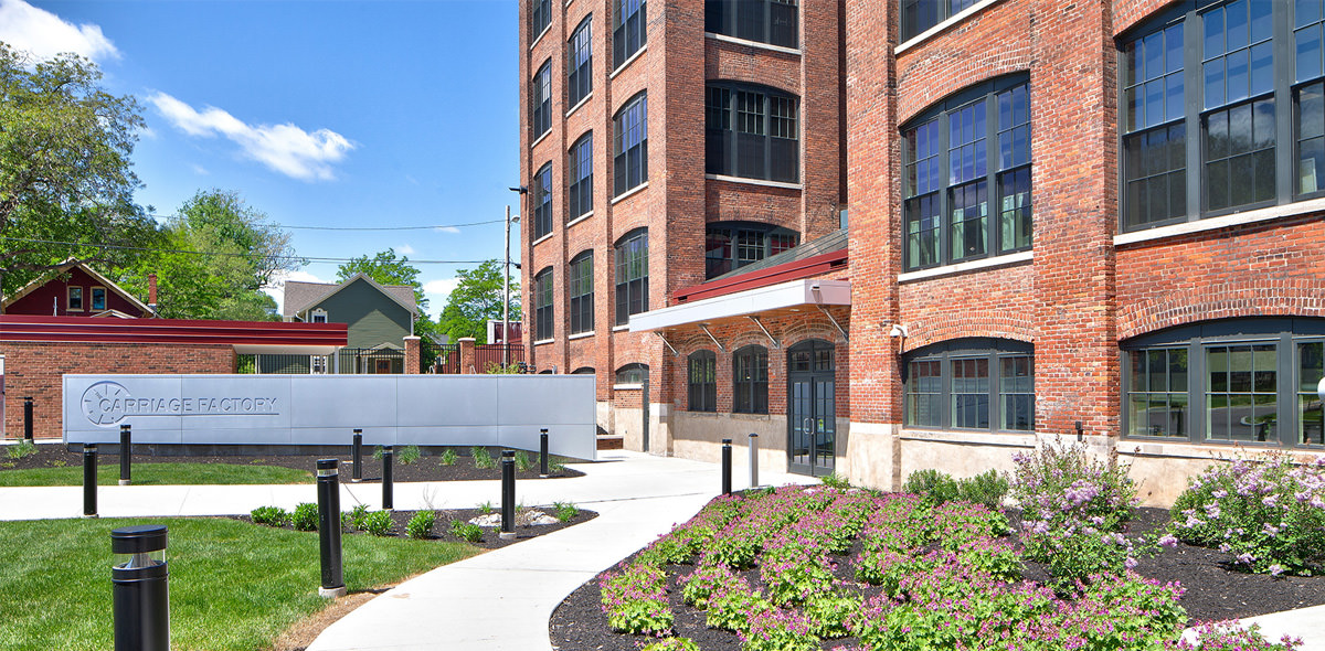 Carriage Factory Apartments Exterior