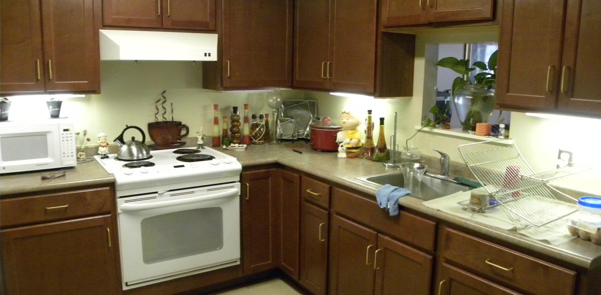 Brown Street Apartments Kitchen