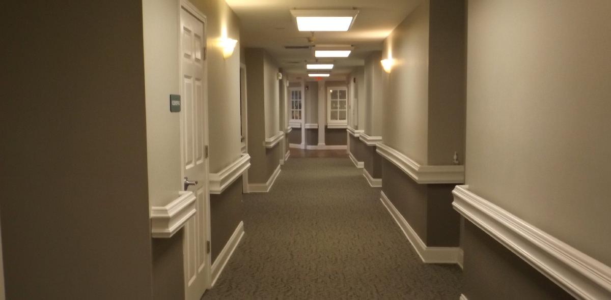Pee Dee Gardens DePaul Senior Living Hallway