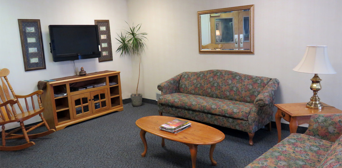 Horizons DePaul Senior Living Lounge