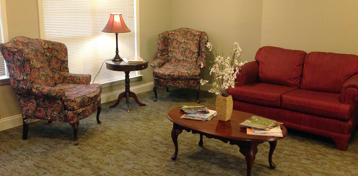 Pee Dee Gardens DePaul Senior Living Lounge