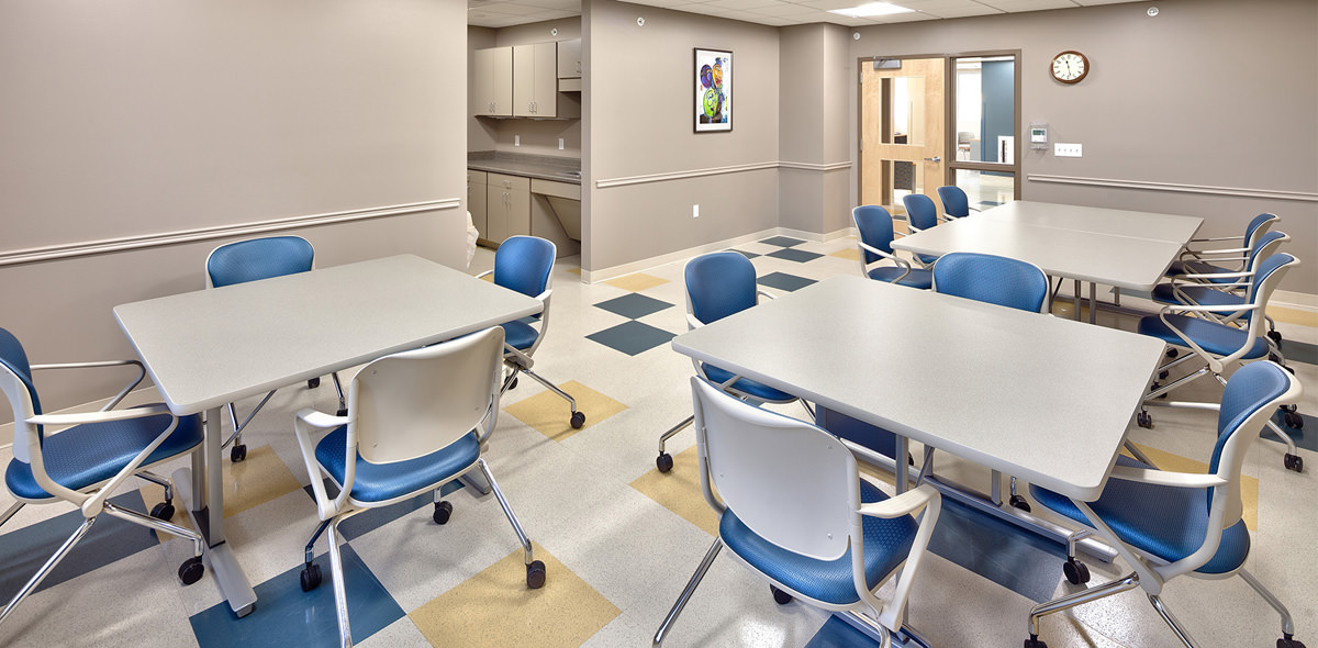 Rochester View Apartments Community Room