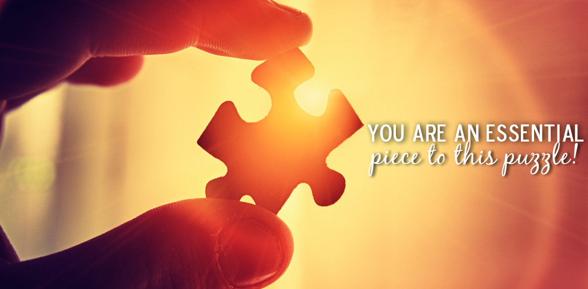 Employment Landing Page Puzzle Piece