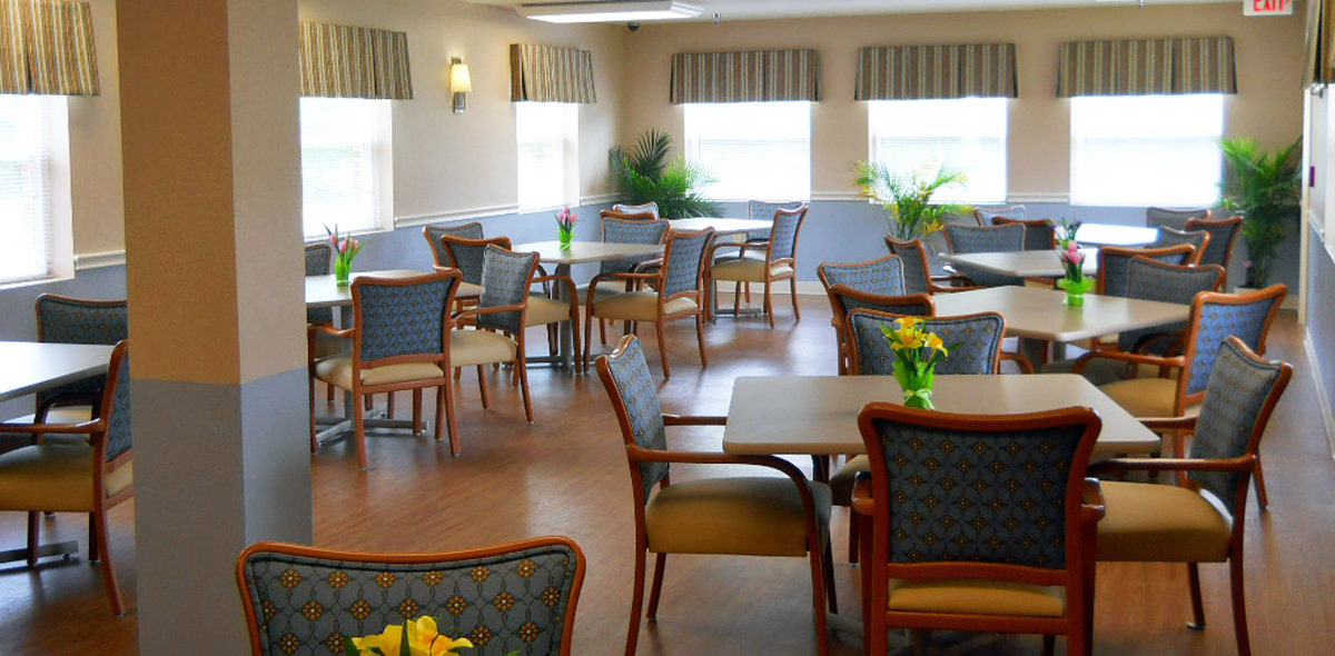 Greenbrier DePaul Senior Living Dining Room