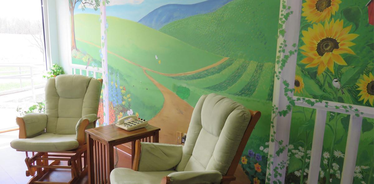 Horizons DePaul Senior Living Hallway