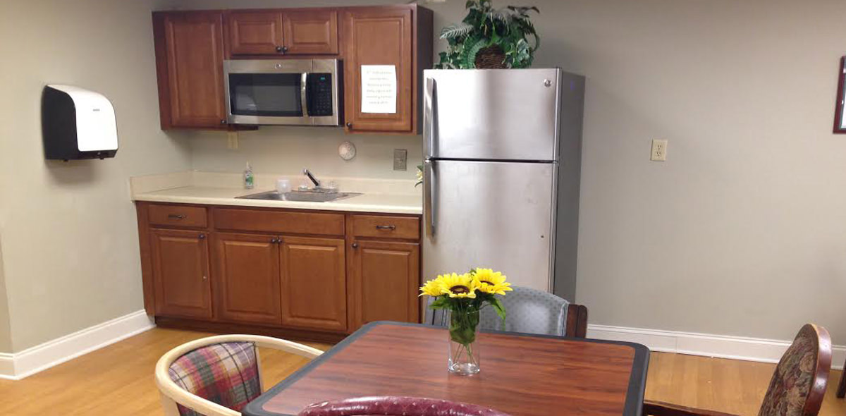 Pee Dee Gardens DePaul Senior Living Small Dining Room
