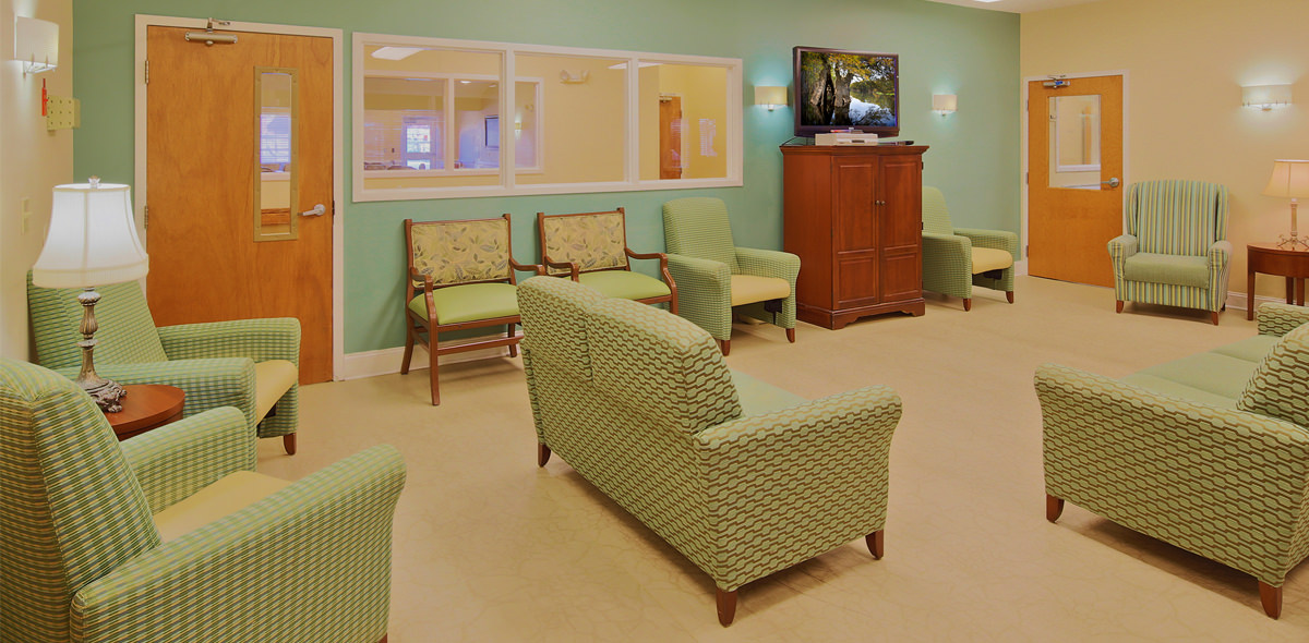 Hickory Village Memory Care DePaul Activity Room