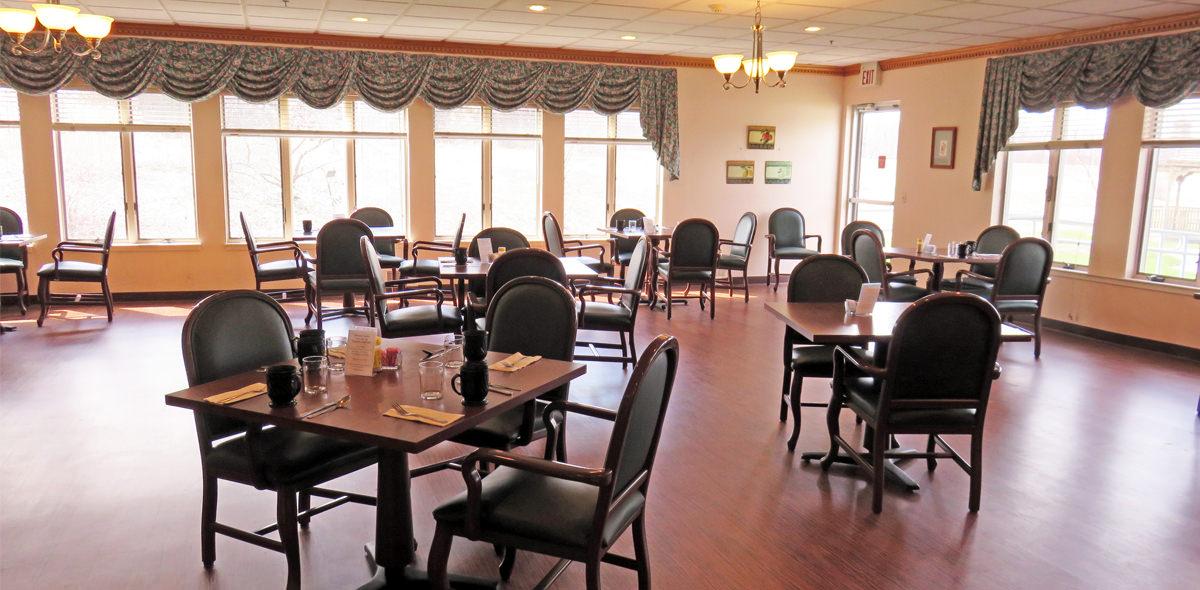 Horizons DePaul Senior Living Dining Room