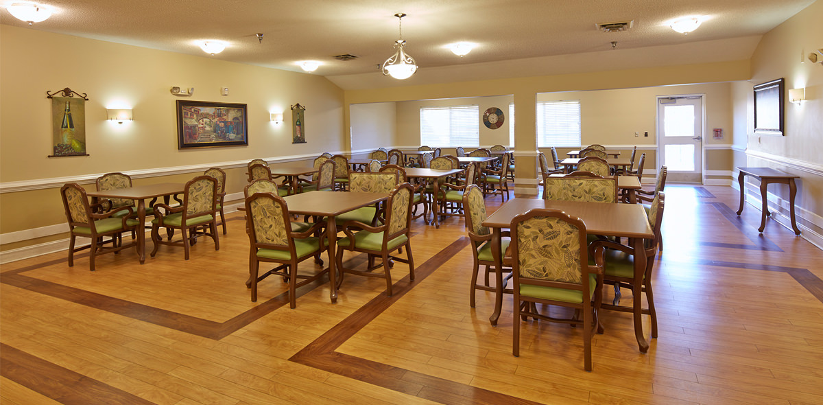 Hickory Village Memory Care DePaul Dining Room