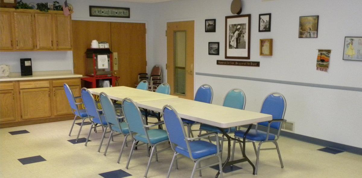 Horizons DePaul Senior Living Activity Room