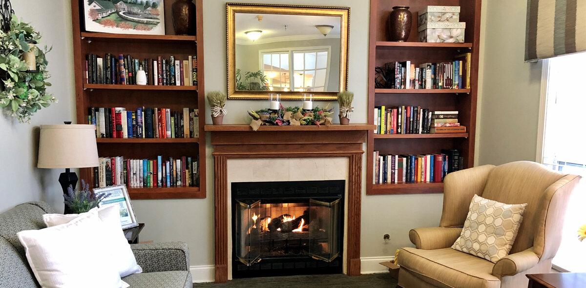 Pee Dee Gardens Fireplace