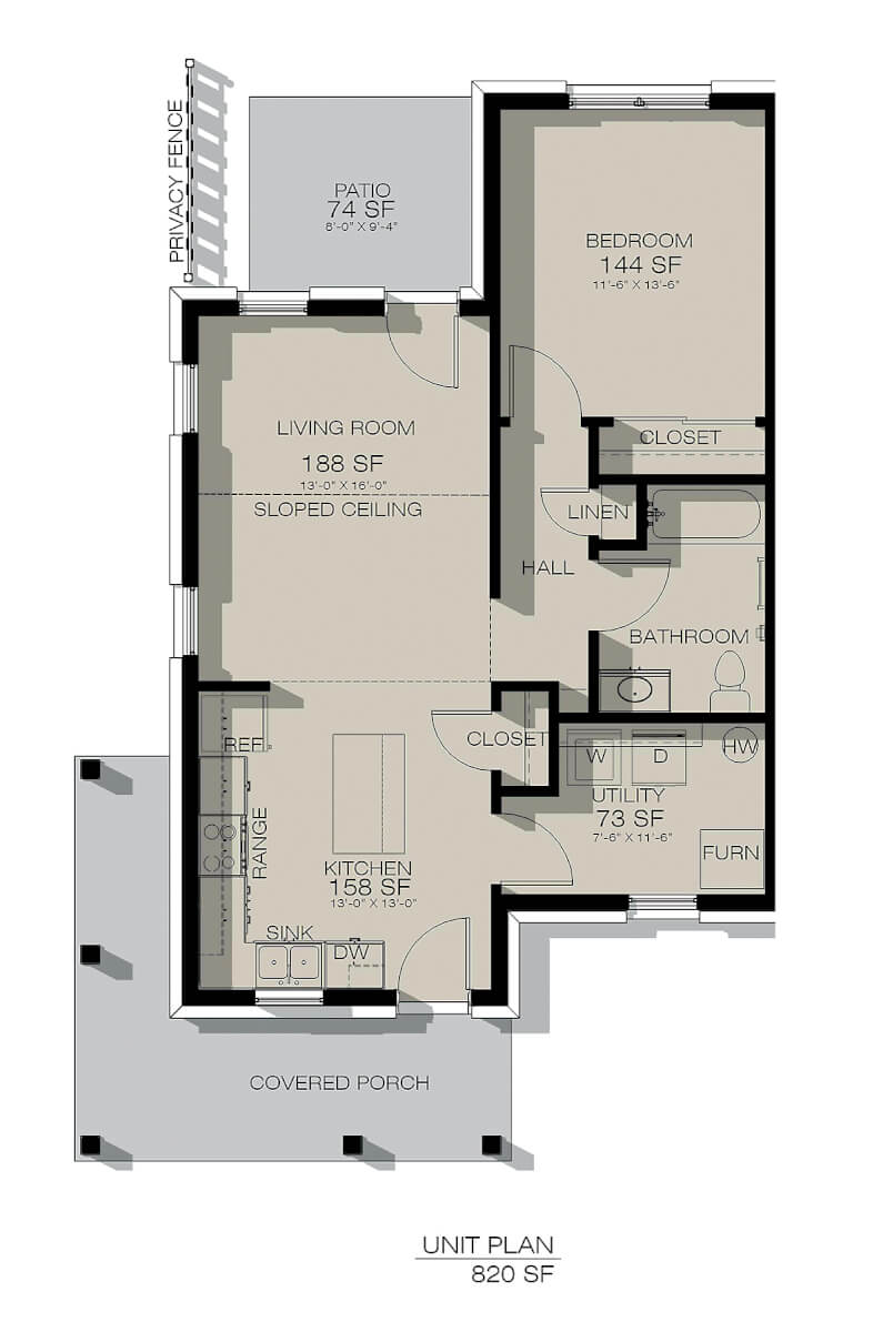 Rolling Ridge - Townhouse Plan (2)