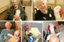 Twelve Oaks Residents Enjoy Comfort Companions