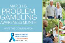 Problem Gambling Awareness Month