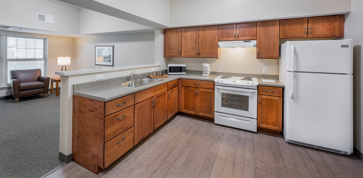 Ebenzer Square Apartments Kitchen