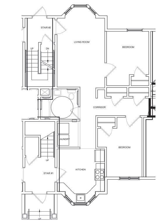 Neighborhood Of The Arts Apartments Two Bedroom Apartment Floor Plan