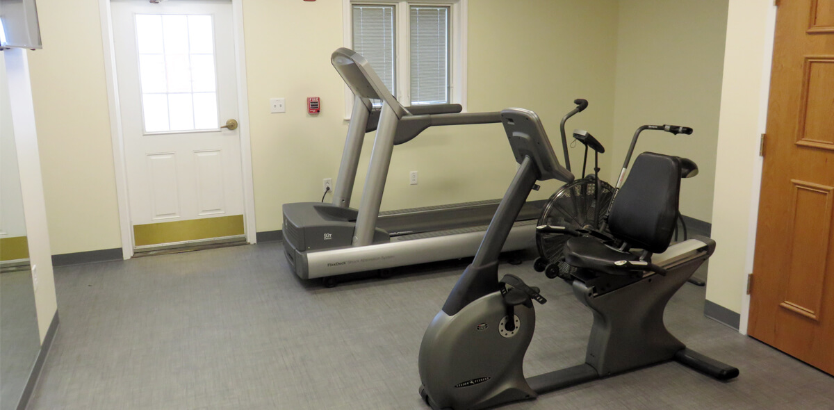 Ridgeview Commons Exercise Room