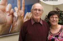 Deaf Couple at Rochester View Apartments