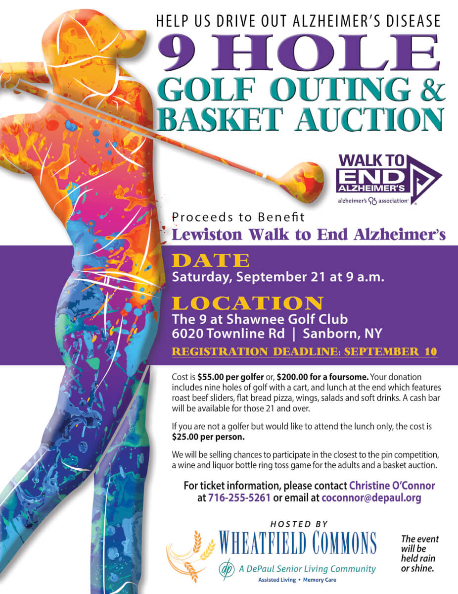 Wheatfield Commons 9 Hole Golf Outing