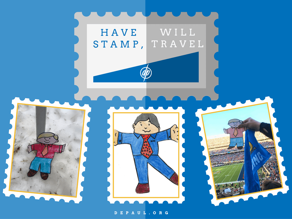 Flat Stanley Collage Photos