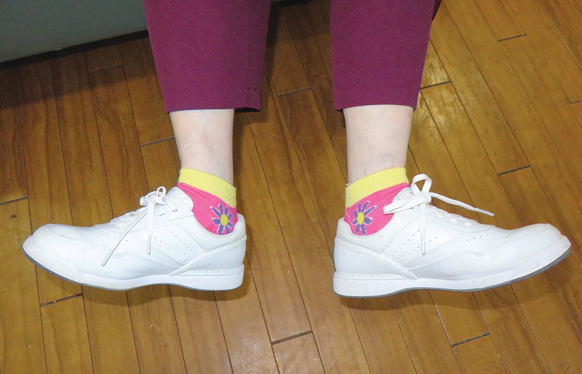 Shirley M shoes & socks