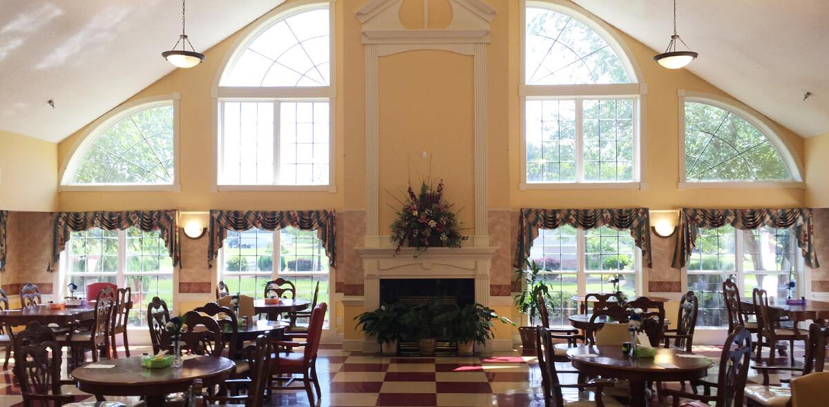 Prestwick Village DePaul Senior Living Dining Room