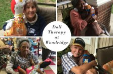 Doll Therapy at Woodridge Collage