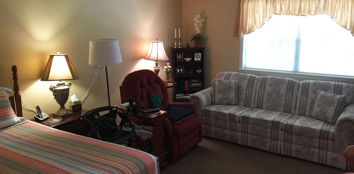 Prestwick Village DePaul Senior Living Bedroom