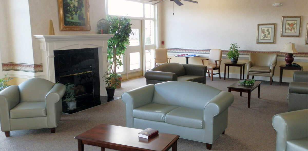 Prestwick Village DePaul Senior Living Lounge
