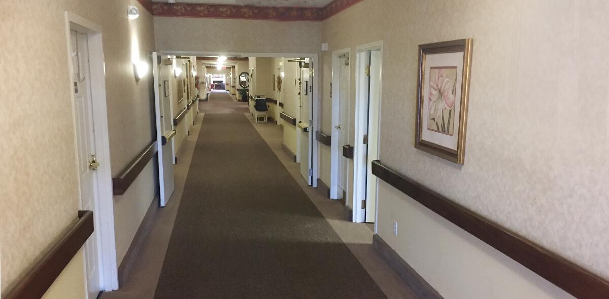 Prestwick Village DePaul Senior Living Hallway