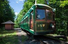 Trolley Car No. 157 Composite Canandaigua NY