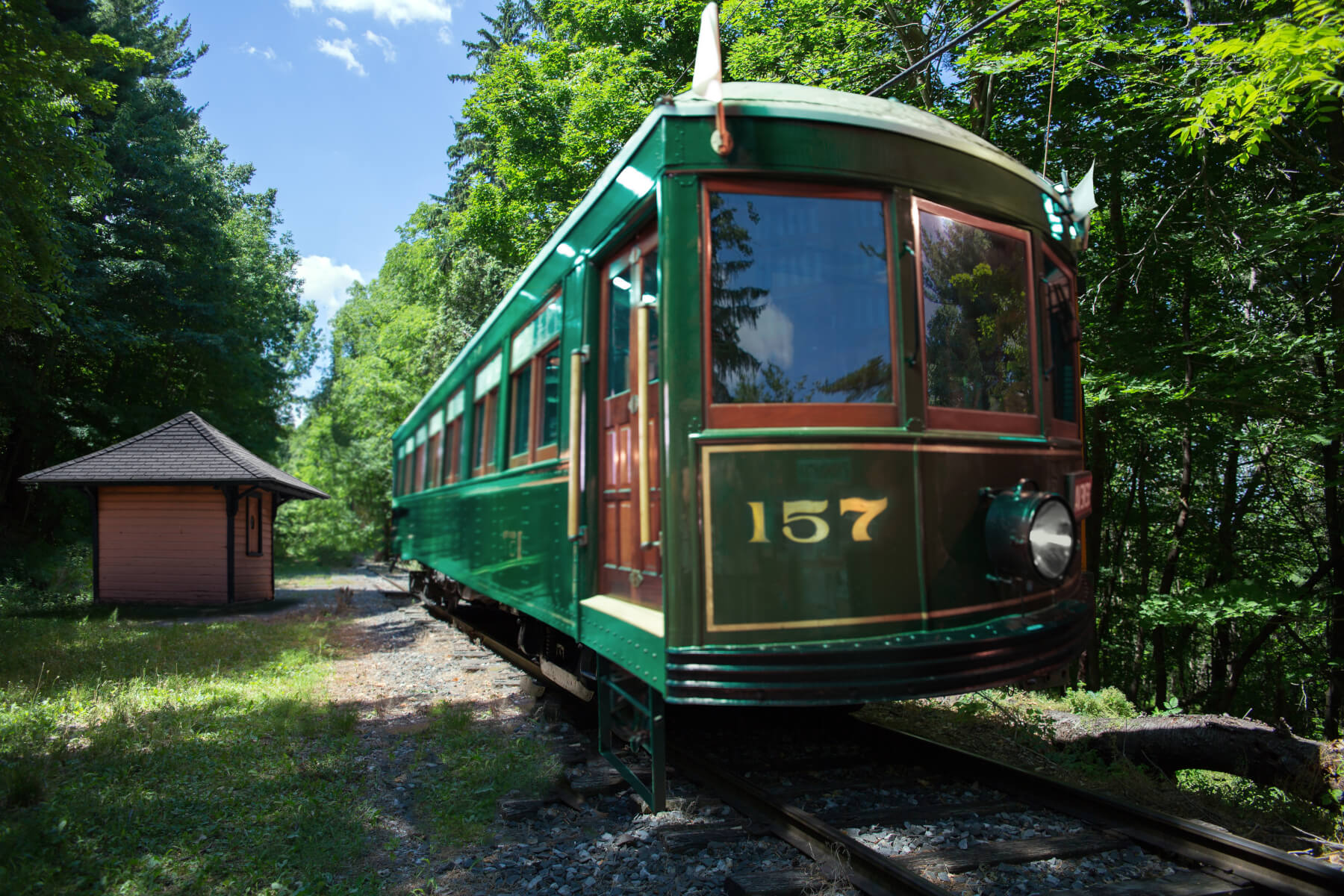 Trolley Car 157