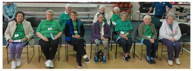 Westwood Commons Team at DePaul's Senior Olympics