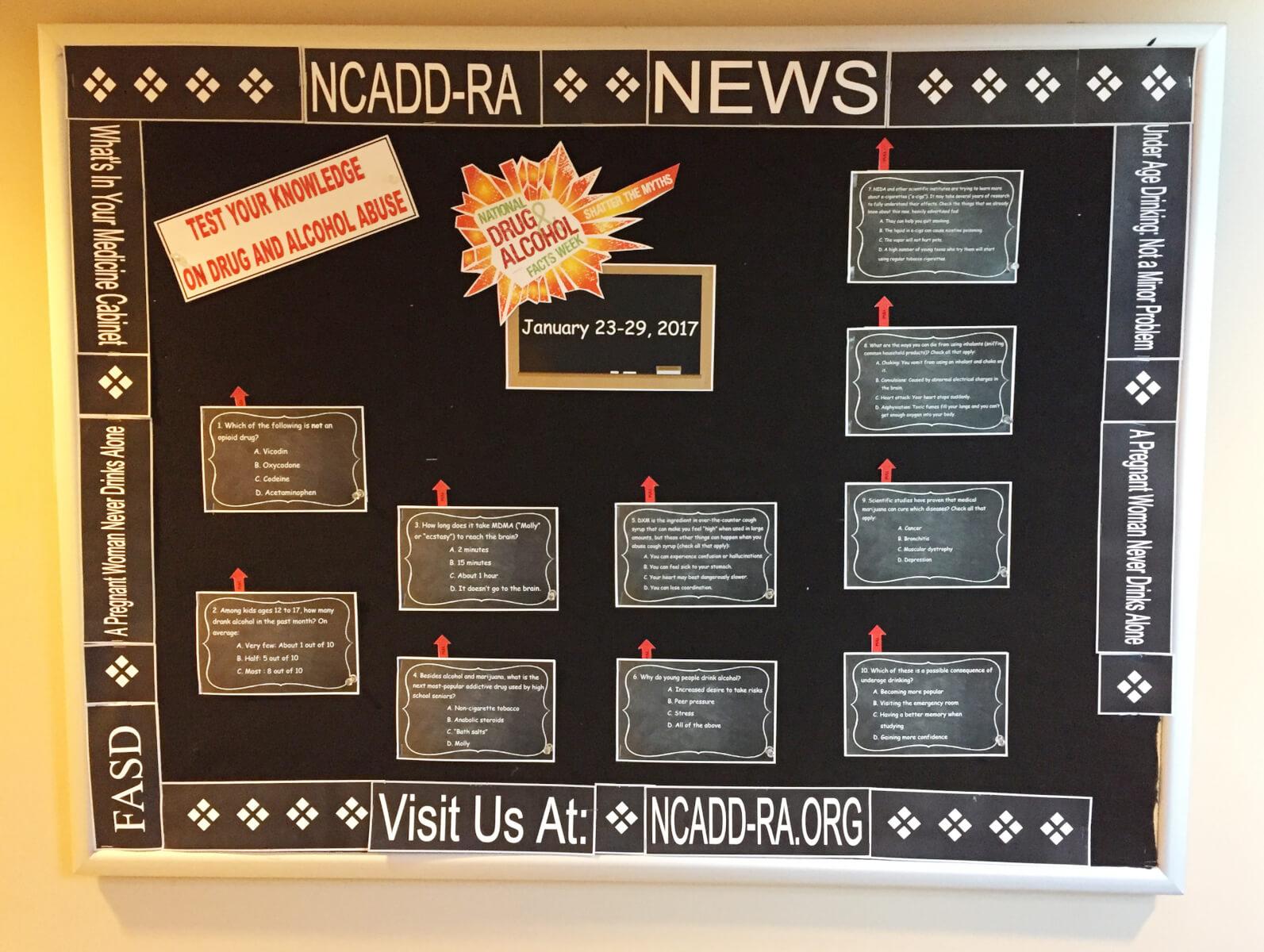 NCADD-RA NEWS Bulletin Board