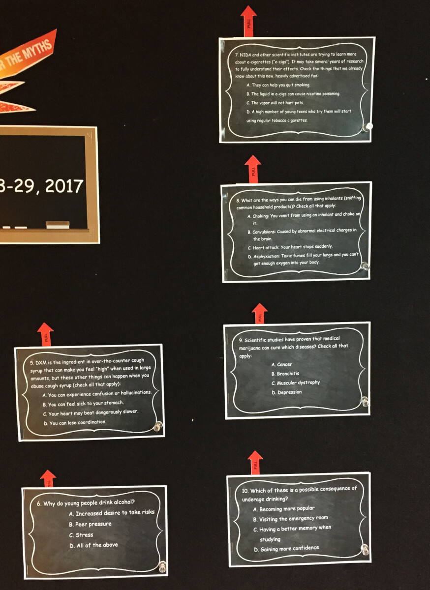 More Facts on the NCADD-RA Bulletin Board
