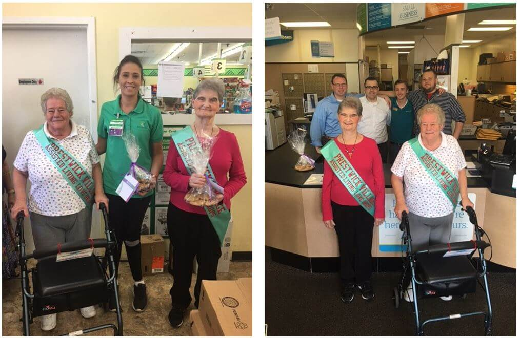 """Prestwick Village residents celebrate National Assisted Living Week with """"Love Drops"""""""