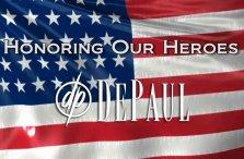 Honoring Our Heroes American Flag DePaul Veterans Video