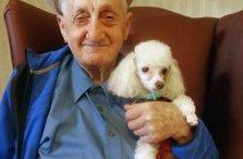 Twelve Oaks Male Senior Resident Pet Therapy