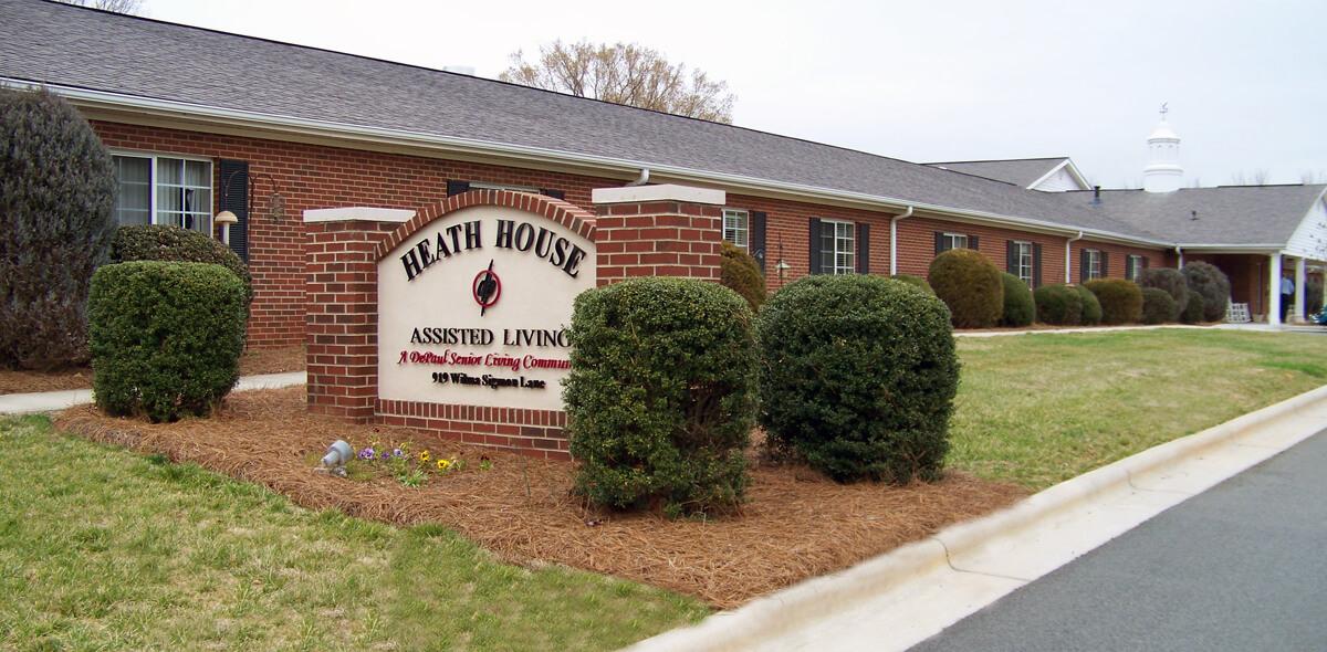 Heath House DePaul Senior Living Exterior