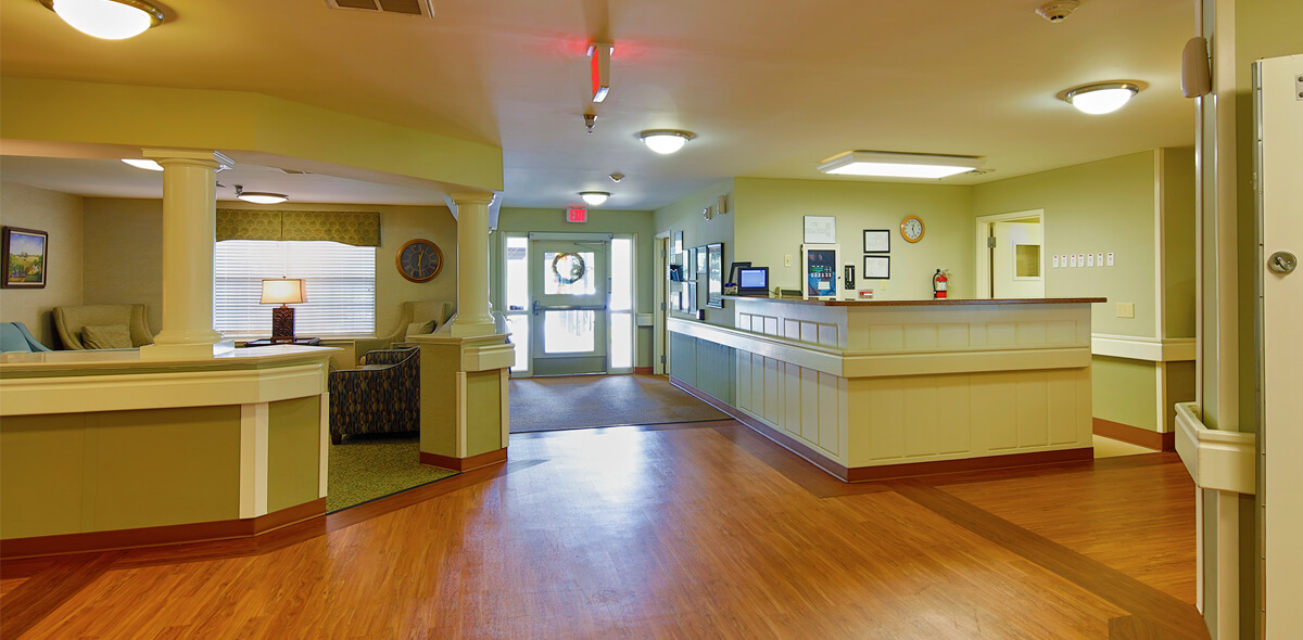 Rolling Ridge DePaul Senior Living Entrance