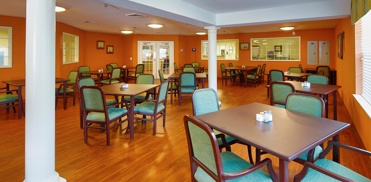 Rolling Ridge DePaul Senior Living Dining Room