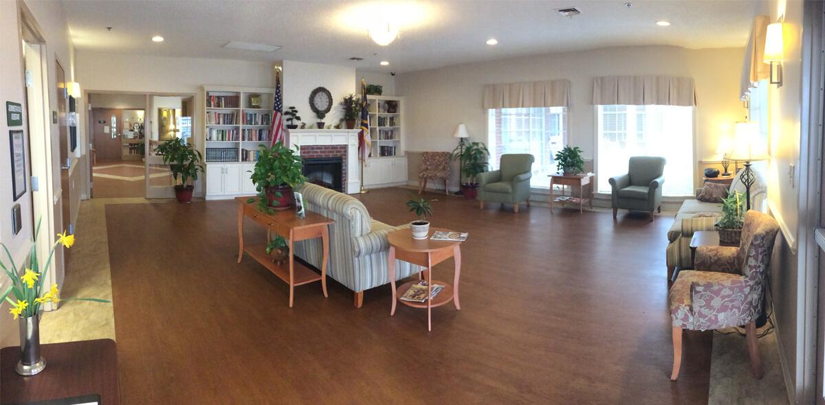 Dayspring Of Wallace DePaul Senior Living Living Area