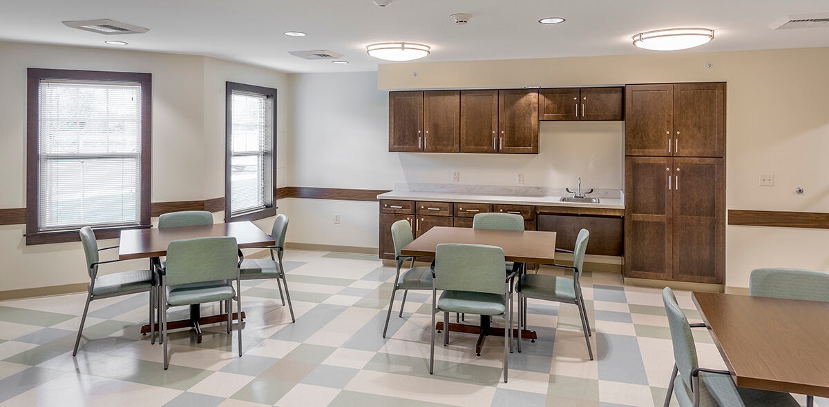 Wheatfield Commons DePaul Senior Living Community Room