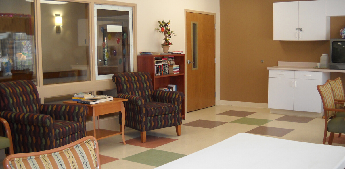 Dayspring Of Wallace DePaul Senior Living Activity Room