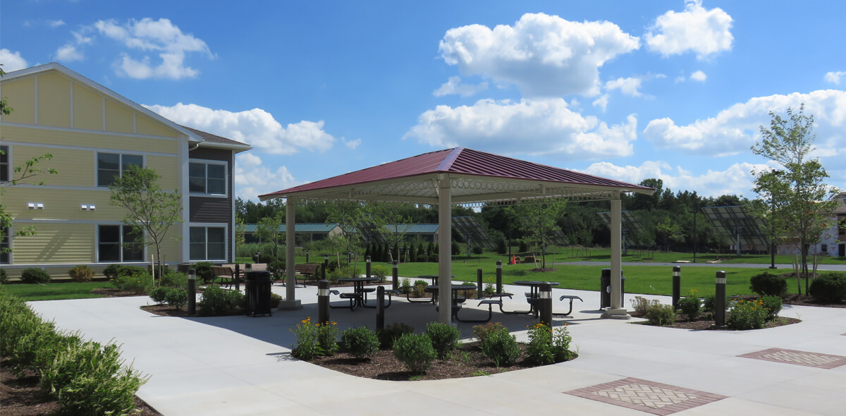 Trolley Station Apartments Gazebo